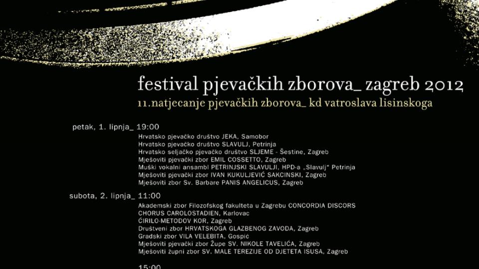 Festival pjevačkih zborova 2012